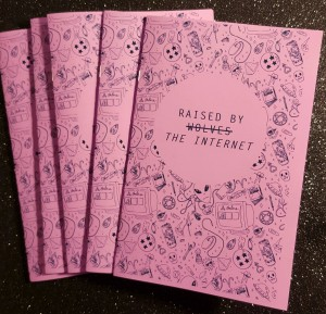 Raised by Internet cover image